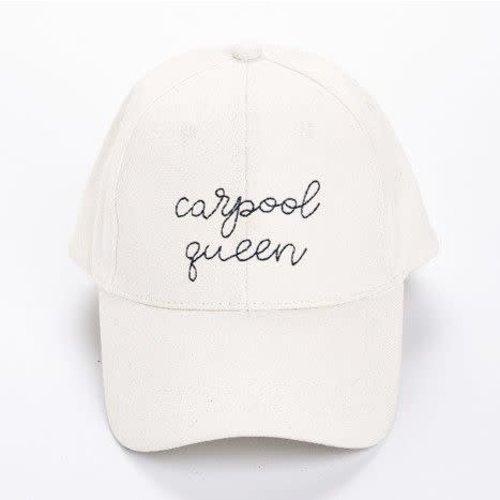 EverEllis Carpool Queen White Hat