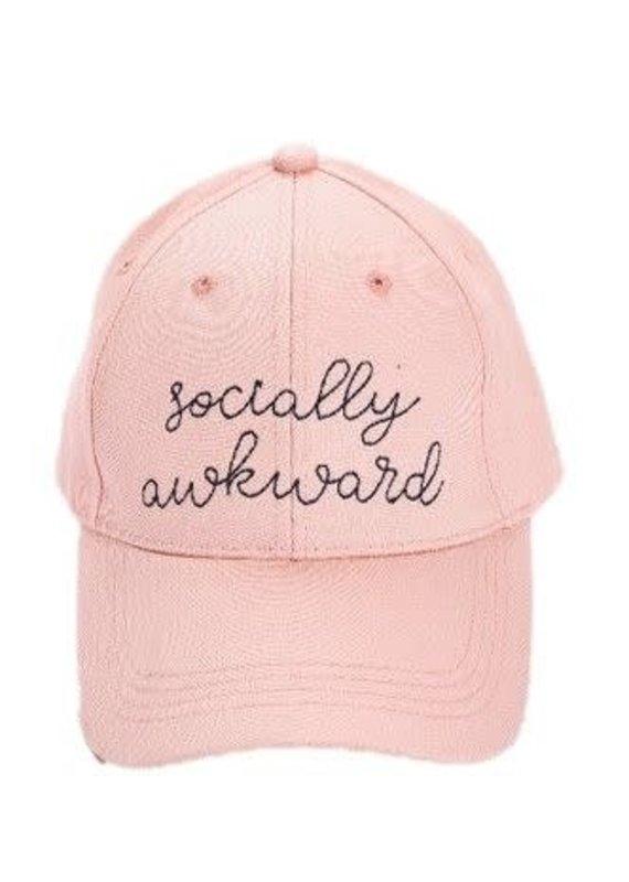 EverEllis ***Socially Awkward Pink Hat