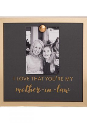 EverEllis ***Gold Magnet Mother In Law Photo Frame