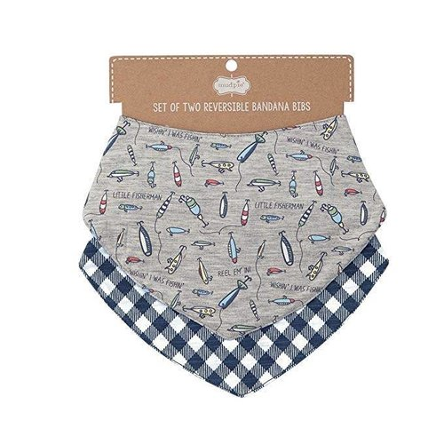 Gone Fishing Bib Set