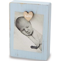 Blue Baby Clip Frame