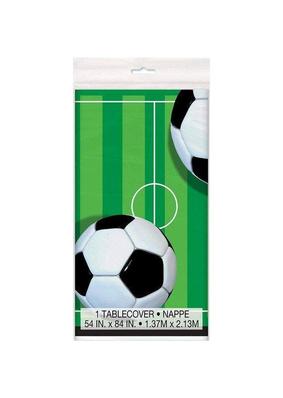 ***Soccer Plastic Tablecover