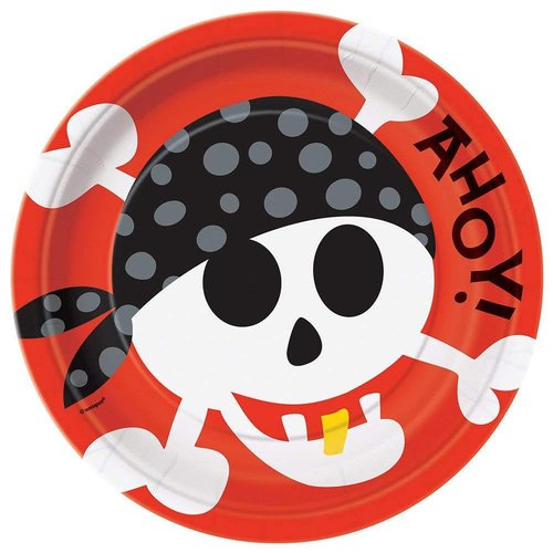 Pirate Fun 9in Plate