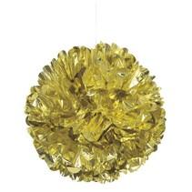 ***Gold Foil Puff Ball