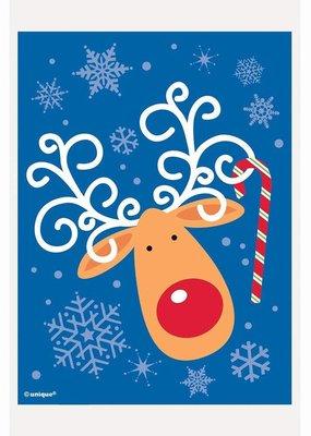 "***Reindeer Small 6""x 4"" Treat Bag 50ct"