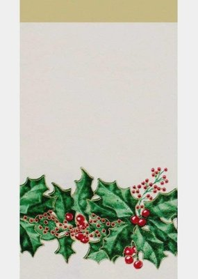 ***Winter Holly Guest Towel Napkins 16ct