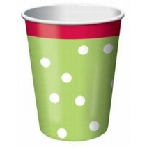 *Holiday Chic 9oz Cups 8ct
