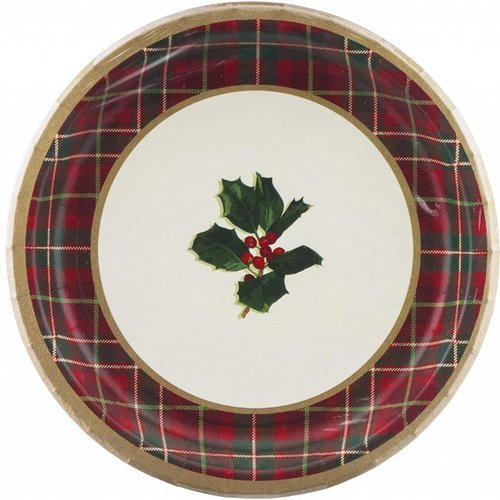 "Warm Traditions 9"" Dinner plates 8ct"