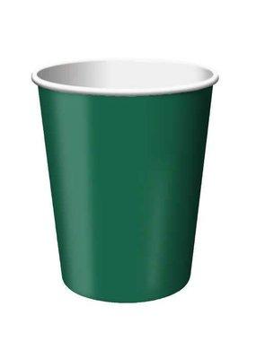 ***Hunter Green 9oz Cups 24ct