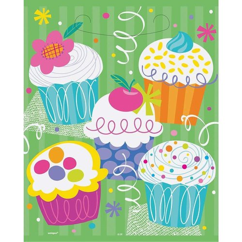 Cupcake Party Loot Bags