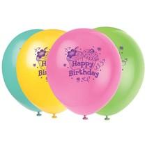 Cupcake Party Latex Balloons