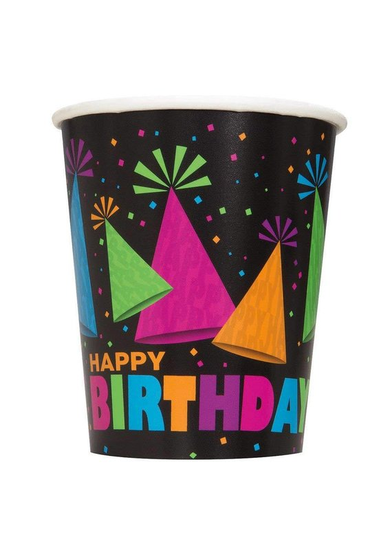 ***Neon Party 9oz Cups