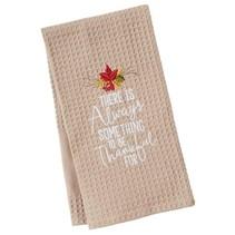 Always Something Waffle Weave Towel