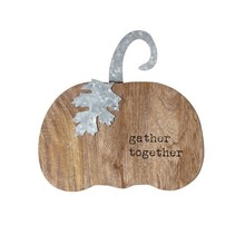 Gather Together Wood & Tin Pumpkin Sitter