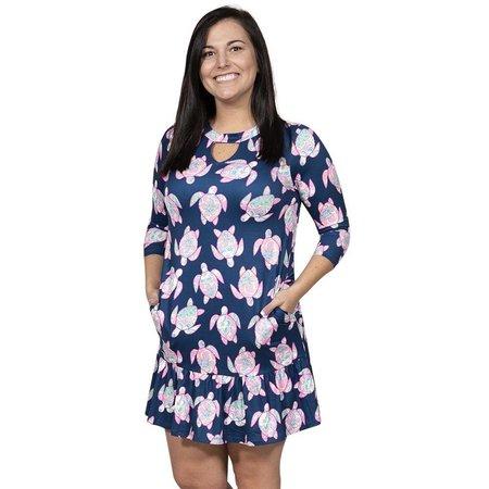 ***Ivy Turtle Key Hole Dress