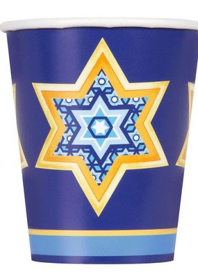 ***Happy Haunukkah 9oz Cups 8ct