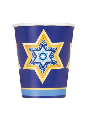 ****Happy Haunukkah 9oz Cups 8ct