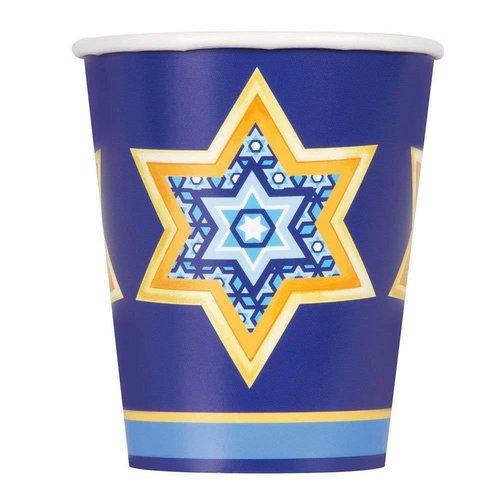 *Happy Haunukkah 9oz Cups 8ct
