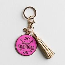 Blessed Grandma Keychain