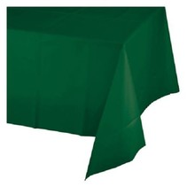 ***Hunter Green 54x108 Plastic Tablecover