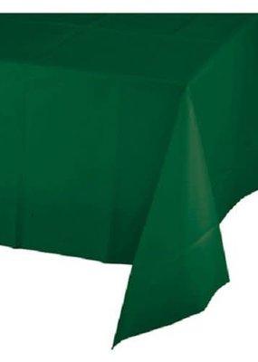 ***Hunter Green 54x108 Plastic Tablecover