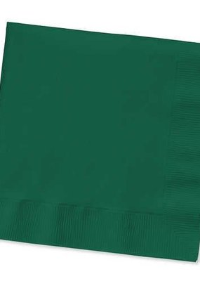 ***Hunter Green Lunch Napkins 50ct