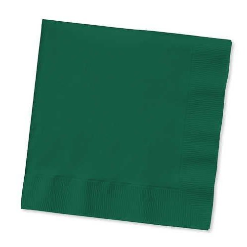 *Hunter Green Lunch Napkins 50ct