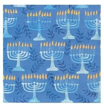 *Hanukkah Menorah Lunch Napkins 16ct