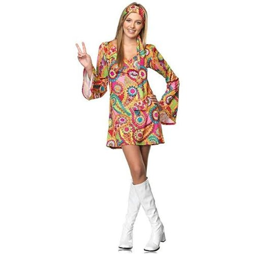 Leg Avenue **Hippie Chick Junior Size Small Costume