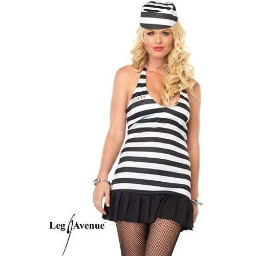 Leg Avenue **Warden's Mistress Adult Costume S/M
