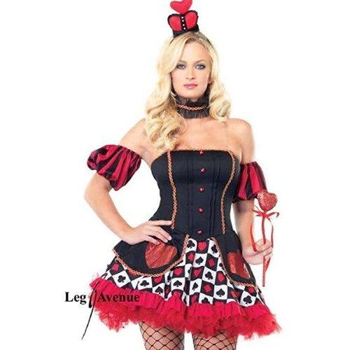 Leg Avenue **Wonderland Queen Adult Costume XS