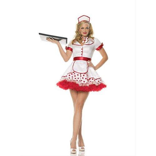 Leg Avenue **3PC Diner Betty Costume Adult XS