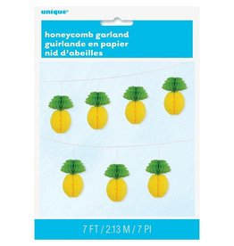 ***Pineapple Honeycomb Garland 7ft