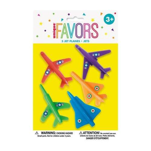 Mini Plastic Jet Planes Party Favors
