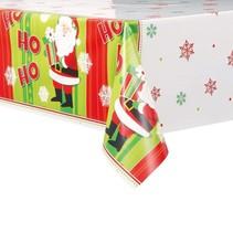 Happy Santa Plastic Tablecover