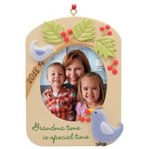 Grandma 2018 Picture Frame Christmas Tree Ornament