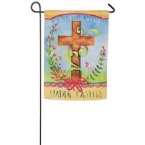 ***Easter Blessing Garden Suede Flag
