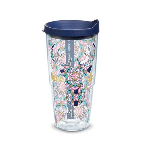 Tervis Love Deerly Mandala Simply Southern 24oz Tervis Tumbler