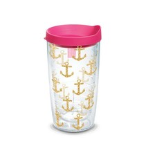 Gold Anchor Simply Southern 16oz Tervis Tumbler