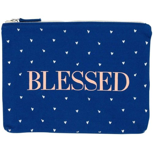 About Face Designs Blessed Makeup Pouch