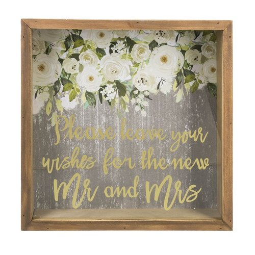 Wedding Wishes Bank - Please leave your wishes for the new Mr and Mrs.