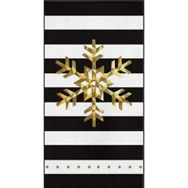 Christmas Snowflake Paper Guest Towels