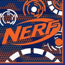***Nerf Party Lunch Napkins