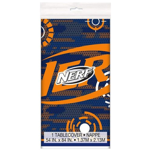 Nerf Party Plastic Tablecover