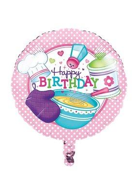 "***Little Chef Birthday 18"" Mylar Balloon"