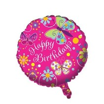 Butterfly Sparkle Mylar Balloon