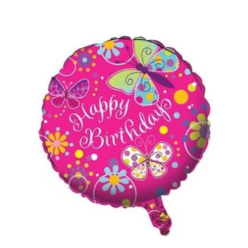 Butterfly Sparkle Mylar Balloon