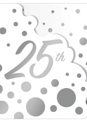 ***Glitz 25th Anniversary Invitations