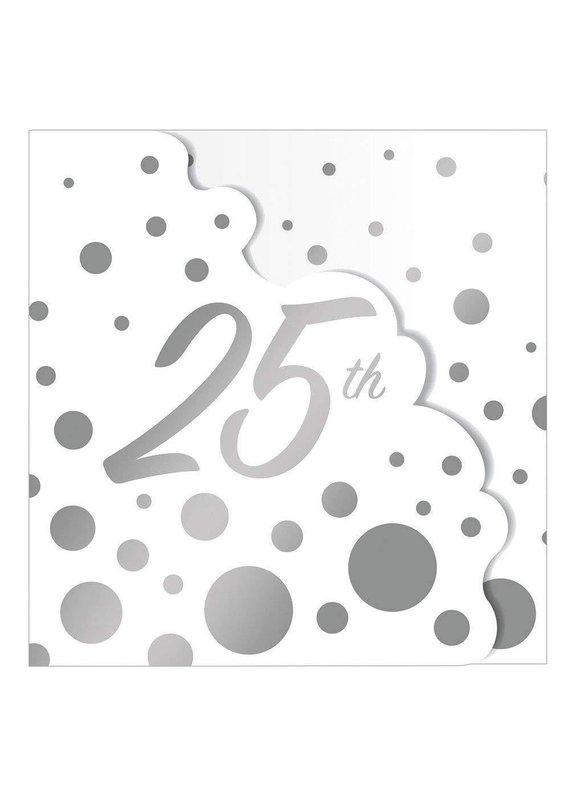 ***Glitz 25th Anniversary Invitations