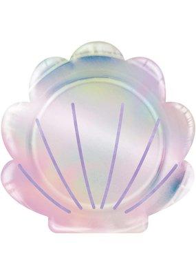 ***Mermaid Shell Shaped Plates